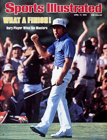 Gary Player wins third green jacket April 17, 1978