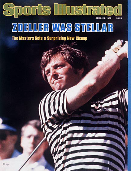 Fuzzy Zoeller wins Masters in a playoff April 23, 1979
