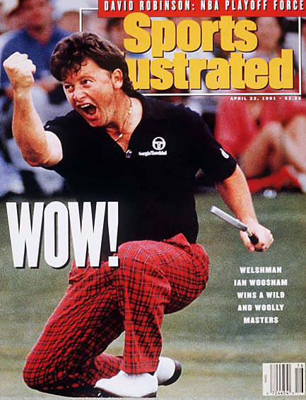Ian Woosnam wins 1991 Masters April 22, 1991