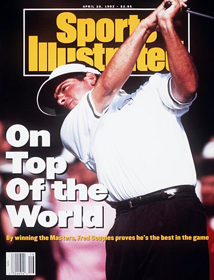 Fred Couples wins 1992 Masters April 20, 1992