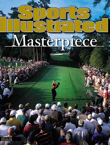 Tiger Woods wins fourth consecutive major title April 16, 2001