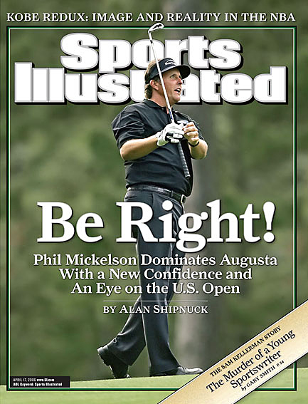 Phil Mickelson wins second Masters title April 17, 2006