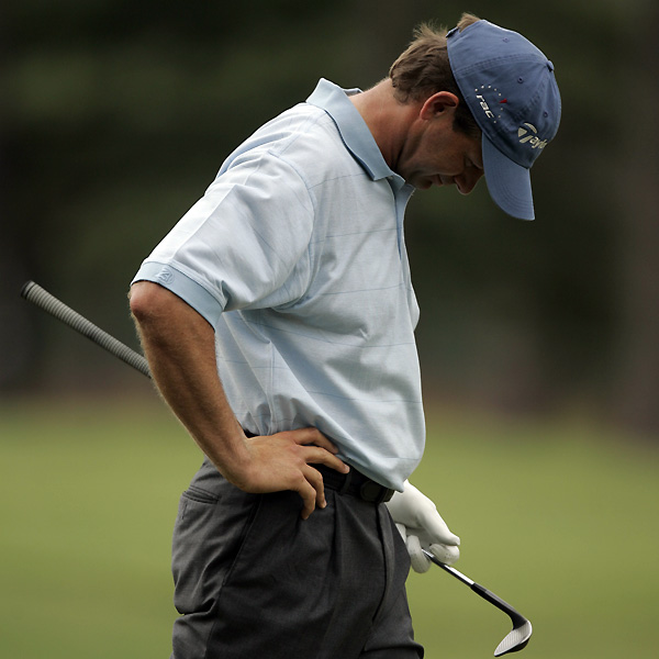 Retief Goosen held a three-stroke lead heading into the final round of the 2005 U.S. Open at Pinehurst. Goosen, the 2001 and 2004 champ, quickly dropped with a double bogey on 2, and he tumbled down the leaderboard with an 81. Michael Campbell shot a one-under 69 to win his first major.