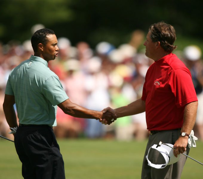 The Tiger Woods/Phil Mickelson Era has come to a close as both golfers failed to win an event this season for the first time since 1992. Things were different back then. Their 22-year run can be defined by a few memorable photos.