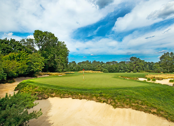 The 303-yard par-4 10th will be drivable for many pros, and may play under par during the tournament -- a rarity for any U.S. Open.