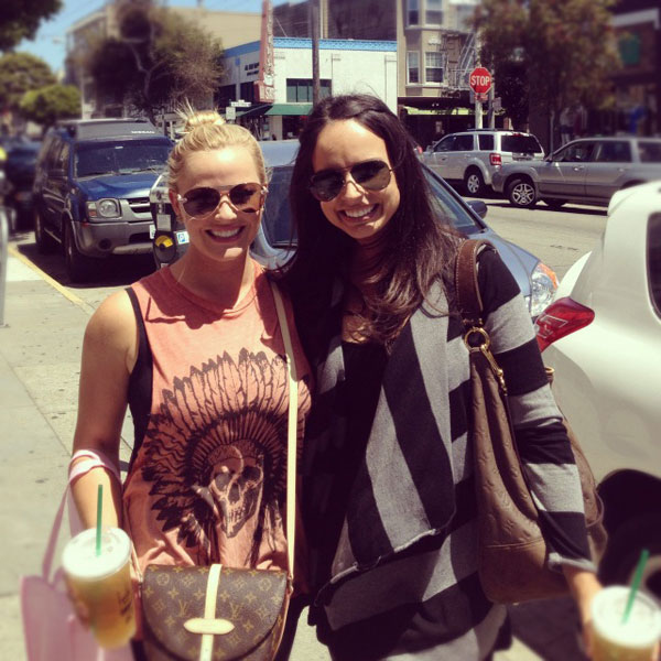 @KandiMahan: Spending the day with Amber Watney! :) #lovingsanfran