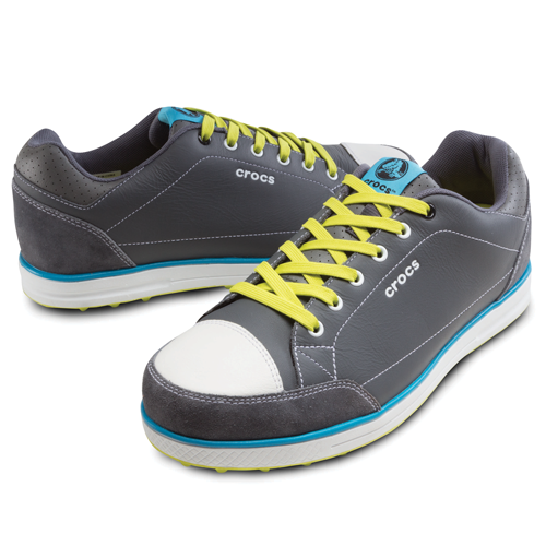 Men's Karlson Golf Shoe, $130; crocs.com                     The popular sandal company's lightweight, spikeless golf shoe model (part of the Crocs Golf Hank Haney collection) is available in four color options and comes with two sets of laces.