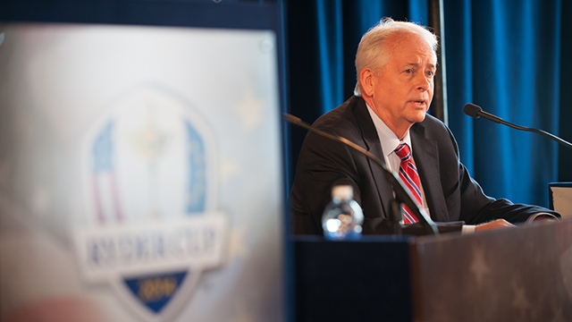Ted's Task Force Following Team USA's dismal performance at the 2014 Ryder Cup at Gleneagles, the PGA announced in October the creation of a Ryder Cup Task Force to sort out the problems stumping America's team.