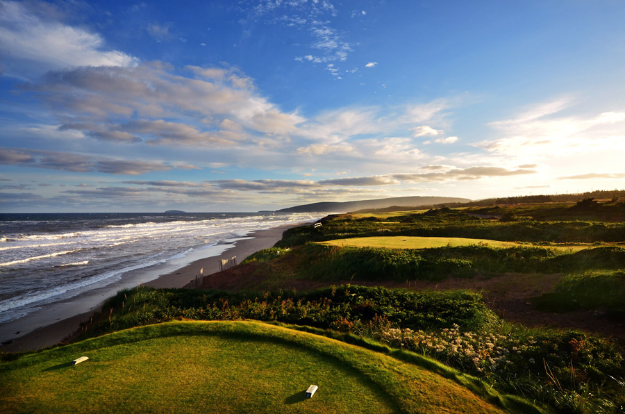 Cabot Links is located in Inverness on the western side of Cape Breton Island.