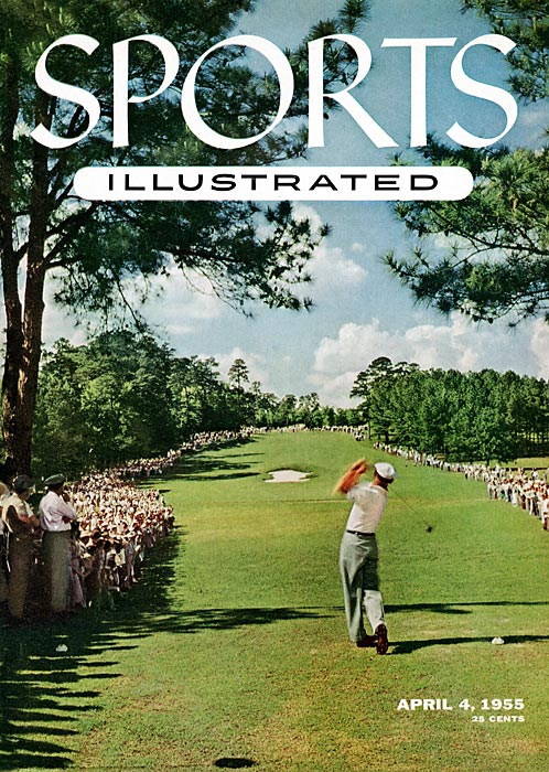 Hogan was the first golfer to be featured on the cover of SI in 1955.