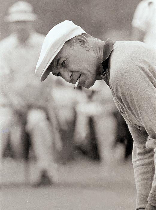Hogan missed the cut at Augusta for the only time in his career in 1957.