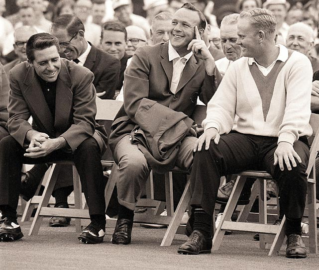 Nicklaus defeated Gary Player and Palmer by nine strokes in 1965.