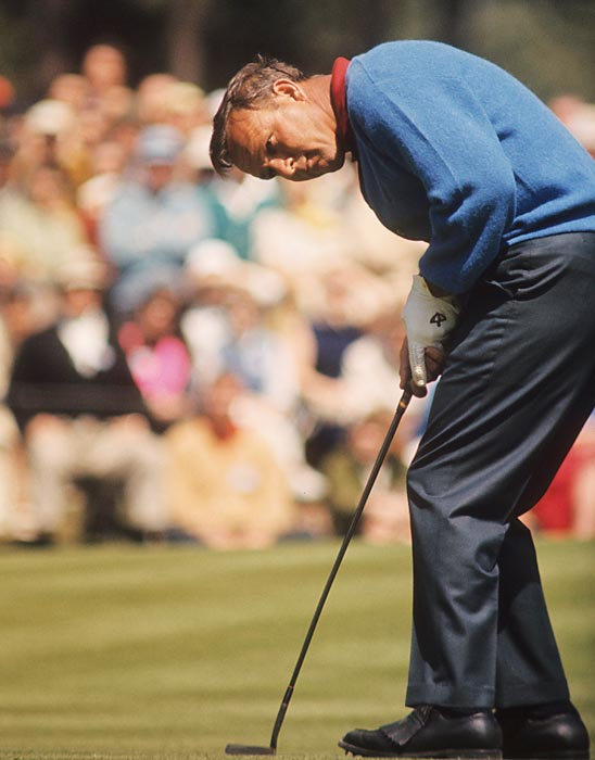 In 1966, Palmer finished two stokes out of a playoff.