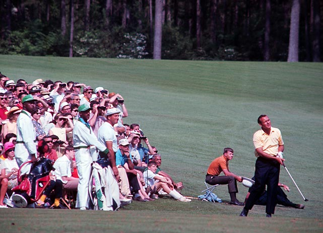 Palmer finished five strokes behind 1967 champion Gay Brewer Jr.