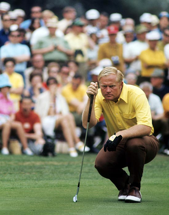 Nicklaus finished eighth in 1970.