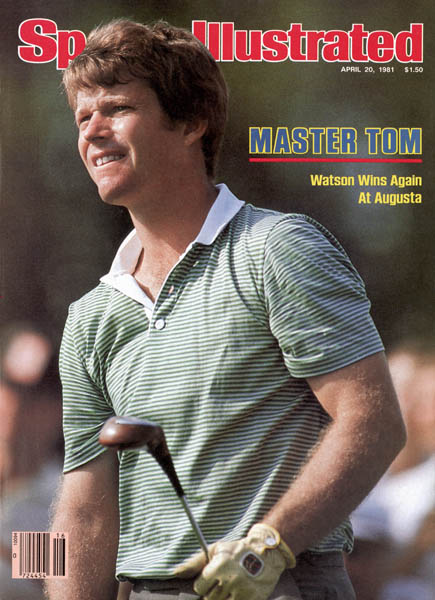 In 1981, Watson won his second Masters, beating Nicklaus (again), and Johnny Miller by two.