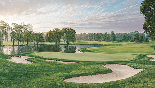 Oakland Hills (1996), 16th Hole                       Winner: Steve Jones                       Course Finder Profile