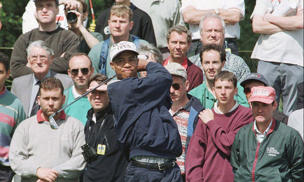 In 1996, Woods finished tied for 22nd at Royal Lytham & St. Annes.