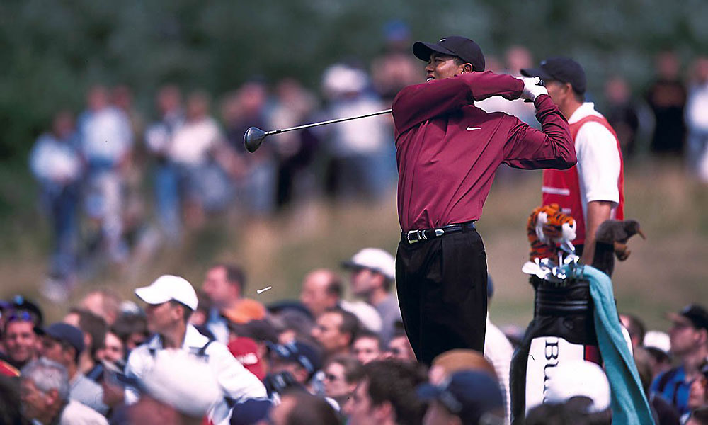 Woods failed to defend his title in 2001 at Royal Lytham & St. Annes.