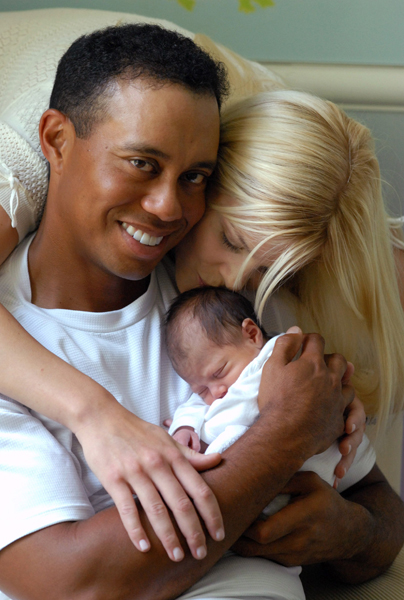 "New Dad                                          The moment Tiger Woods announced that his wife, Elin, was pregnant, the speculation began. How would a baby affect his focus, his game, his schedule? It didn't help that her due date was around the British Open. ""I don't really know how my game is going to be affected by it because I've never gone through it before,"" he said.                      It turned out that Woods didn't have to skip any majors. His daughter, Sam Alexis, was born the day after Woods finished second at the U.S. Open. He skipped the Buick Invitational to spend time with his family but was back on tour to host his own tournament.                                           Related Links                     • Tiger's wife gives birth to a daughter                     • Photos: Baby Sam Alexis                     • Fatherhood will Suit Tiger Just Fine                     • David Feherty: An Earl of Wisdom"