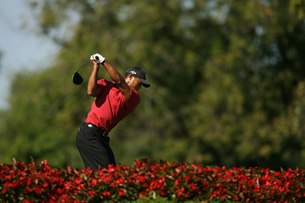 """I think my driving has gotten better,"" Woods said. ""I feel as if I'm able to shape the ball in there and actually work the golf ball better both ways than I did early in the year."""