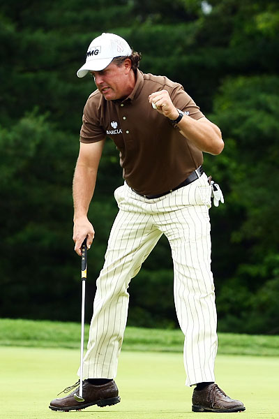 He tied Lucas Glover for the lead during the 2009 U.S. Open after making eagle on No. 13 at Bethpage Black.