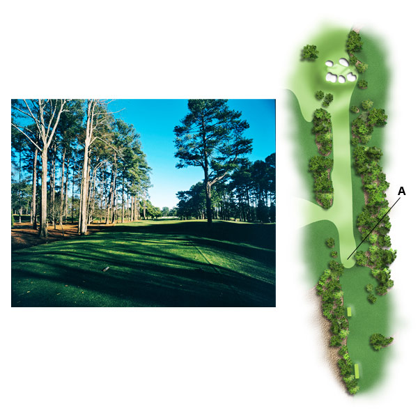 "No. 7, Pampas                     1998 yardage: 360                     2010 yardage: 450                                                                                    CHOKED UP                                          ""This was meant to be a quaint little par-4. MacKenzie never would have grown out trees in order to narrow the chute off the tee, and he never would have added rough and so much extra length. As with No. 1, your choice off the tee is gone, and with it much of the hole's seductiveness. The tee shot doesn't ask. It demands. You must hit driver because if you hit a 4-iron, you still have a long iron approach into a green that was not designed to accept a 3-, 4-iron. It was designed to accept a wedge.""                                          MIGHTY MITE                                          Every course needs a short par-4—at Augusta it's the 350-yard third; it's perfect. Sure, you can spit on the green from the tee, but if you lay up, the angles and the pin position still pose a challenge. You ask, 'Should I hit driver or iron?' It drives you nuts, but in a fun way, like a puzzle. I say, return No. 7 to that philosophy. Bring back the artistry."""