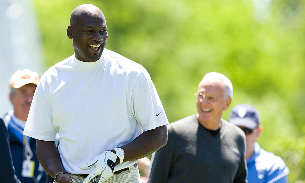 Jordan returned to Charlotte for the 2010 Quail Hollow Championship pro-am.