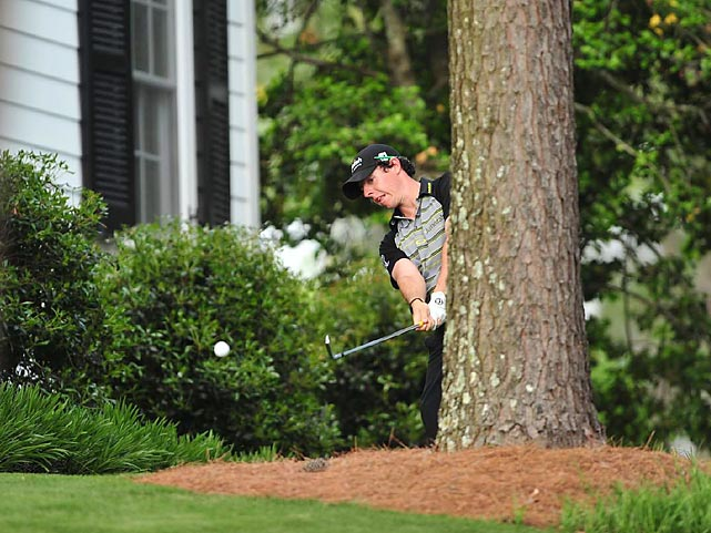 Rory McIlroy led the 2011 Masters after 54 holes, but he shot a final-80 to finish tied for 15th.