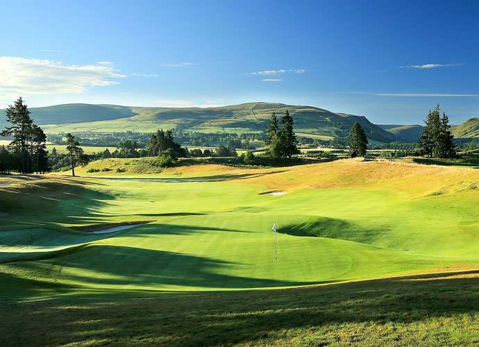 "2. Gleneagles                     Can you say ""home game""? This Yank-friendly venue may as well be called ""Bald Eagle."" Gleneagles isn't just a cushy resort; its Centenary Course --which will host the Cup -- is a parkland layout designed by American icon Jack Nicklaus. The track (which looks like it could host the Frys.com Open) should favor Team USA's bomb-and-gouge style. Says one of the game's most revered architects, who asked to remain anonymous, ""Gleneagles is a lot more like America than Prestwick, that's for sure."""