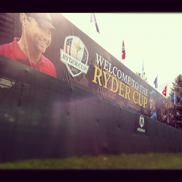 @collin_orcutt:Welcome to the #RyderCup. Taken at Medinah Country Club. #golf #pga