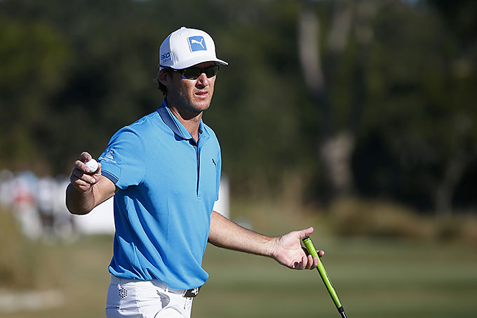 Will MacKenzie is the co-leader at the McGladrey Classic after three rounds at 12-under.