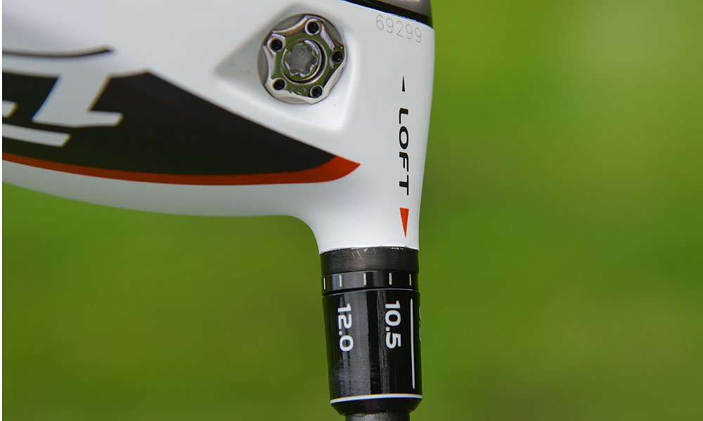 The R1 comes pre-set to 10 degrees, but you can adjust the loft up to 12 degrees or down to 8.