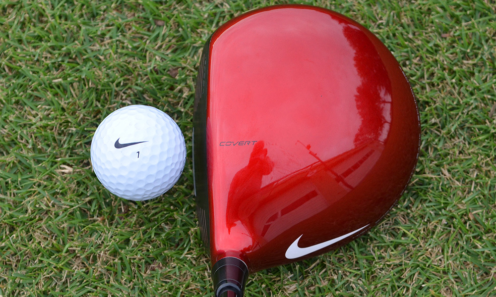 For golfers who want to shape their drives, Nike has designed the 430-cc VR_S Covert Tour driver.