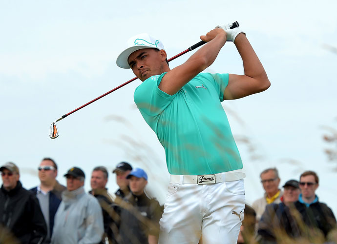 7. Rickie Fowler                         Remember the guy who Edoardo Molinari couldn't close out at Celtic Manor in 2010? The same guy who stormed back from the brink to win the last three holes, securing a half point for the Yanks in one of the most clutch Ryder performances in recent memory? That was Fowler, and he'll be back this year after a one-Cup absence. All he's done in 2014 is nab top-five finishes at the WGC-Accenture Match Play, the Masters, both of the Opens and the PGA Championship. And like a lot of young Americans, he loves match play.