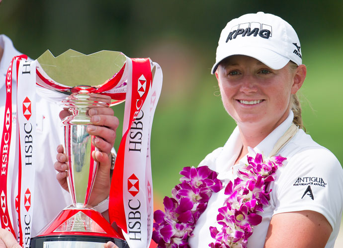 Lewis returned to the winner's circle the next year in the HSBC Women's Champions at Sentosa Golf Club in Singapore. She made par at the 18th hole to hold off Na Yeon Choi by a shot and Paula Creamer by two.