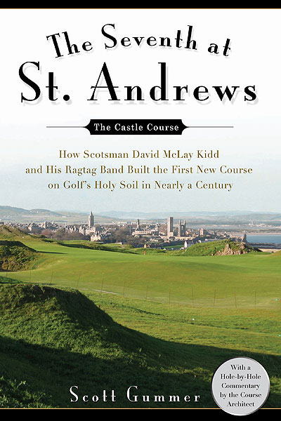 The Seventh at St. Andrews:                   How Scotsman David McLay Kidd and his Ragtag Band Built the First New Course on Golf's Holy Soil in Nearly a Century                   by Scott Gummer                   Gotham Press                   The title pretty much says it all, but the rich detail between the covers makes this book an immensely satisfying read. Gummer, a wonderfully vibrant golf travel writer, delves deeply into St. Andrews, the Cradle of Golf, but the meat of the text is devoted to the architect and to the nuts and bolts of getting a golf course built.                                      See more great holiday gift ideas in the GOLF.com Holiday Gift Guide