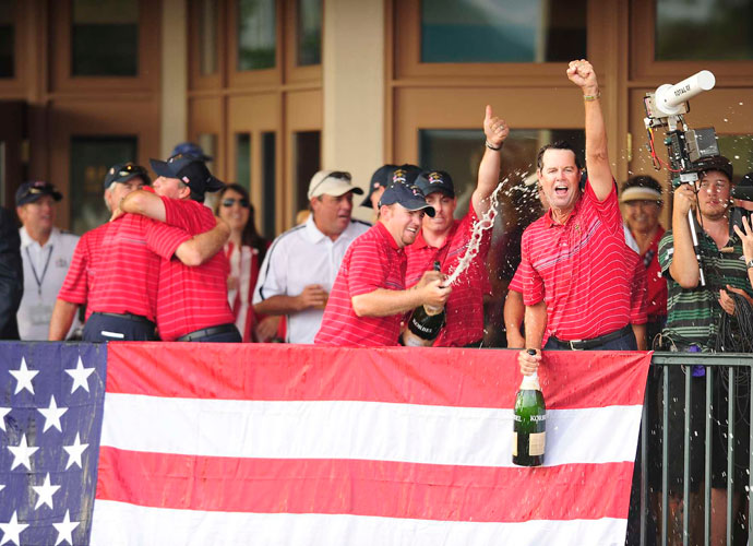 9. Tiger Woods                     After the oft-injured Woods opted out of the competition, the U.S. team actually gained a rallying point. The last American team that went Tiger-less was Azinger's 2008 squad of overachievers (pictured), and that one turned out just fine.