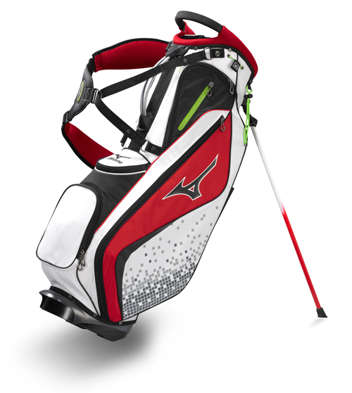 "Mizuno Aerolite SPR II Stand Bag ($200; mizunousa.com): A ""SliderStrap"" helps you find your ideal center of gravity for a more comfortable carry, while an airflow hip pad reduces perspiration buildup."