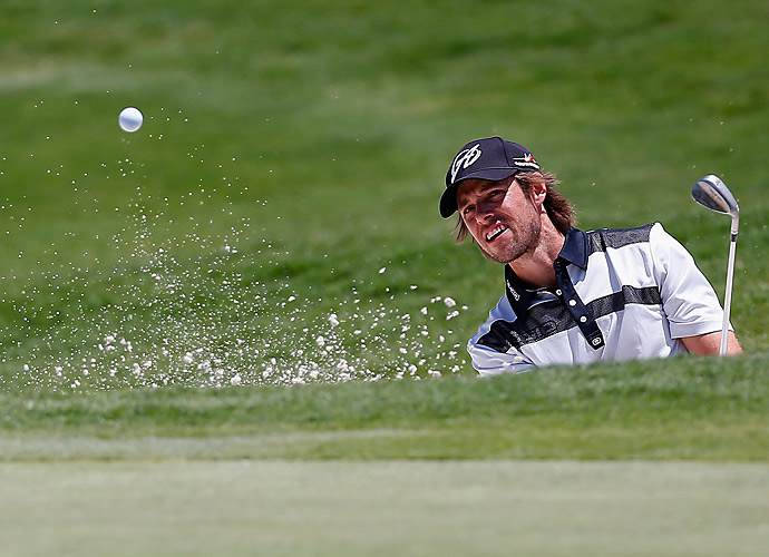 Aaron Baddeley shot a two-under 68.
