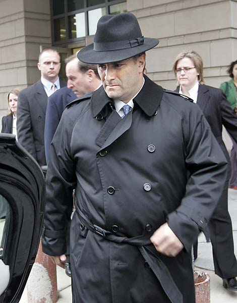 Name: Jack Abramoff                     Profession: Lobbyist                     Gives Golf a Bad Name: Center of Capitol Hill corruption scandal in                     which he took legislators and aides on elaborate Scotland golf trips                     to curry favor, unable to join country club after serving four-year                     prison term.