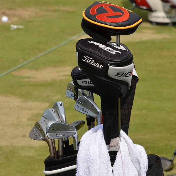 Adam Scott used these Titleist 710 MB irons last week to win the WGC-Bridgestone Invitational.