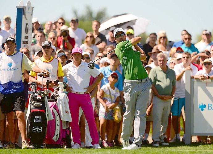 Tournament: The Barclays                     Champion: Adam Scott                     Driver: Titleist 913D3