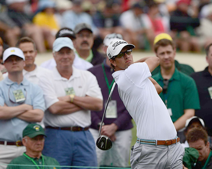 Tournament: The Masters                       Champion: Adam Scott                       Driver: Titleist 913D3
