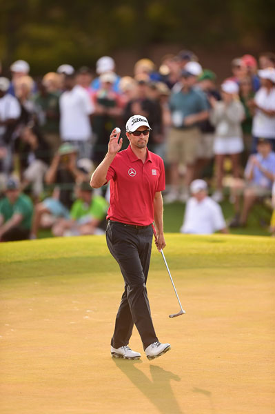 Will Adam Scott win a major after the anchoring ban?                        PGA Tour pro responses:                        YES: 77 percent                        NO: 23 percent                        Will Keegan Bradley?                        YES: 44 percent                        NO: 56 percent