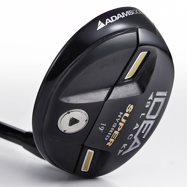 Adams Idea Black Super Hybrid                       $199, adamsgolf.com                                              SEE: Complete review, video                       TRY: GolfTEC, Golfsmith, Adams fitting                       BUY: Adams Idea Pro Black Super Hybrid on Golf.com