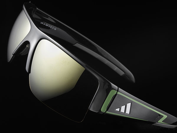 Adidas Retego                     $150, adidasgolf.com                     Collaboratively designed with Justin Rose, the Retego boasts five lens options—each lens color is preselected by Adidas to match a specific frame color. The 'Quick-Change Lens System'makes it simple to exchange one lens for another to keep up with variances in light conditions (additional lenses not included). The nose pad can be adjusted to two heights for a more tailored fit, while 'Flex Zones' in the temple eliminate pressure points behind the ears.
