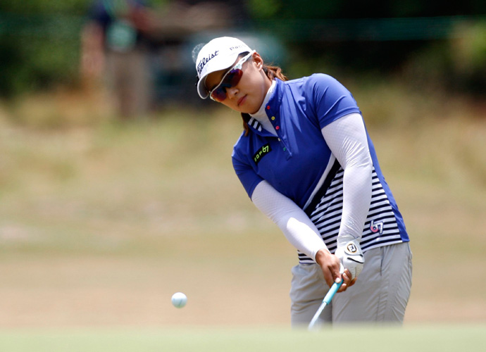 54-hole co-leader Amy Yang of South Korea double-bogeyed the 2nd and never recovered. She shot a 4-over 74 and finished fourth.