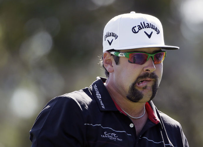 First-round leader Andres Gonzales shot a 2-over 74 to drop down the leaderboard into a T22.