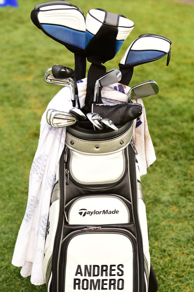 Andres Romero favors TaylorMade RocketBladez Tour irons and Tour Preferred wedges.